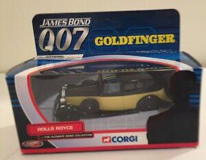 """Corgi James Bond 007: """"Goldfinger"""" Rolls Royce"""