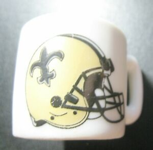 NEW ORLEANS SAINTS NFL AMERICAN FOOTBALL TEAM LOGO OLD MINI MUG
