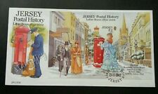 Jersey Letter Boxes 2002 Mailbox Pillar Postal Service History Postman (FDC)