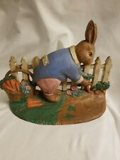 """Easter Rabbit Cast Iron 9"""" Doorstop Midwest Of Cannon Falls"""