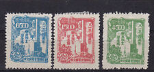 Liberated China 1949 4Th Anniv. of japanede surrender. Ne151-153