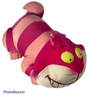 "💕 Cheshire Cat Microbead Pillow Plush Nylon 18"" Disney Alice In Wonderland E7"