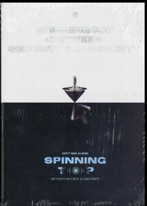 GOT7 Spinning Top Photo Book Cover CD * NEW & SEALED - FAST UK DISPATCH *