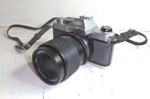 Vintage YASHICA FX-7 FX7 SLR 35mm Film Camera & 70mm Lens