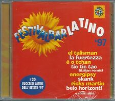 FestivalBar Latino '97 (1997) CD NUOVO Ricky Martin. Natalia Estrada. M D'Ubaldo