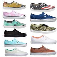 Vans Authentic Zapatillas Mujer Zapatos Zapatillas Zapatillas Skate Zapatos