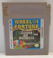 GB Console Game Gioco Cartuccia Nintendo GameBoy - WHEEL OF FORTUNE DMG-WF-USA /