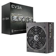 EVGA SuperNOVA 850 T2, 80+ TITANIUM 850W, Fully Modular, EVGA ECO Mode, 10 Ye...