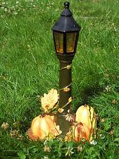 Solar Lantern with Pumpkin and Grain, Halloween Garden Decoration Light 31cm