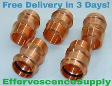 """(Lot of 5) 1-1/2"""" Propress x Male Threaded Adapter - *Same Day Shipping*"""