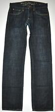 Levi's Capital E Hesher Rigid Dark Blue Straight Jeans 29 X 33 1/4 Long Handmade