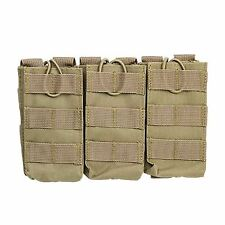 VISM by NcSTAR TRIPLE RIFLE MAG POUCH 5.56 / .223 TAN