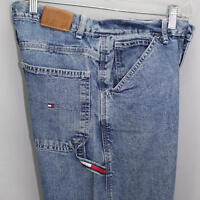 Tommy Hilfiger Denim Jeans Womens Carpenter Style Size 8