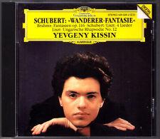 Evgeny Kissin Schubert escursionisti-fantasia Liszt Hungarian Rhapsody e Brahms FANTASY