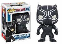 Funko Pop Marvel: Captain America Civil War - Black Panther Vinyl Figure