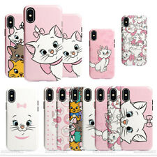 Cute Cartoon Aristocats Marie Cat Case For iPhone 5-12 Pro Samsung S7- S20 Plus