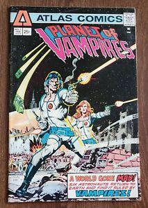 PLANET OF VAMPIRES #1 ATLAS COMICS 1975 NEIL ADAMS VG