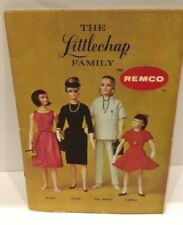 1960s Remco Littlechap Famiily Dolls 17pg Full Color Fashion Booklet