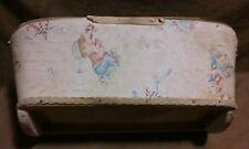 "Vintage Antique Rocking Baby Crib Primitive doll baby Bed Crib 20"" Long"