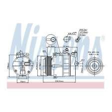 Fits Mercedes SLK R170 320 Genuine OE Quality Nissens A/C Air Con Compressor