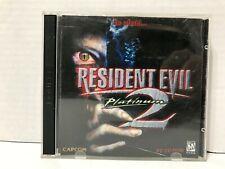 Resident Evil 2 Platinum PC Complete Capcom 1998,1999