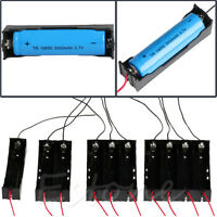 1Pc Plastic Battery Holder Storage Box Case For 1-4 18650 Rechargeable Battery