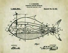 US Military Motivational Patent Poster Art Print Navy Submarine Ship PAT307