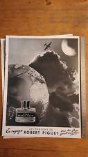 PUBLICITE ANCIENNE PUB ADVERT - années 50 - Parfum en voyage robert piguet