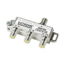 Extreme 3 Way Unbalanced HD Digital 1GHz High Performance Coax Cable Splitter