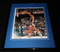Kenny Sky Walker Framed 11x14 Photo Display Knicks Dunk