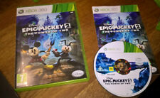 DISNEY EPIC MICKEY 2 THE POWER OF TWO VF PAL 1er édition [Complet] Xbox 360