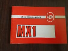 Gilera 125 MX - 1 1988 manuale uso originale italiano owner's manual