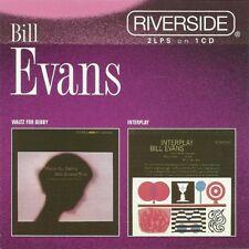 Original 1998 12 Track CD BILL EVANS Waltz For Debby / Interplay (2 LPs On 1 CD)
