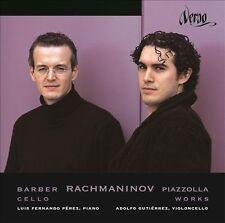 Barber Rachmaninov Piazzolla # Adolfo Gutierres Luis Fernando Perez (Verso) CD