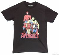 Avengers Classic Line Up Marvel 30 Single Officially Licensed Adult Shirt S-XL