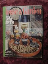 RARE HOUSE & GARDEN Magazine November 1967 Christmas Gift ideas Parties