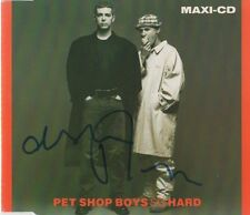 "Pet Shop Boys Autogramm signed CD-Cover ""So Hard"""