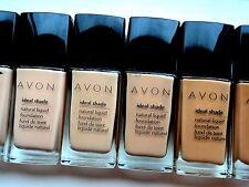New Avon Ideal Shade Liquid Foundation-Light Beige Free P&P
