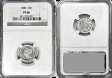 USA 1882 3 c NGC pf66