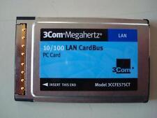 LOT OF 10 NEW 3Com 10/100 LAN Cardbus 3CCFE575CT Rev A PCMCIA NIC