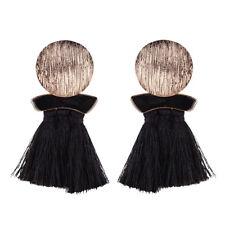 Vintage Thread Tassel Fringe Earrings Women Drop Dangle Earrings Bohemia Jewelry