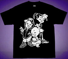 New  90s Bebe Kids shirt air uptempo more pippen Black supreme cajmear movie S