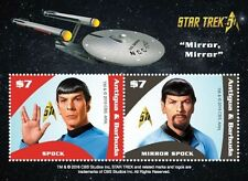 Antigua - Star Trek - Spock, Mirror Mirror - Souvenir Sheet, 2017 MNH