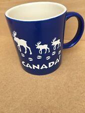 Souvenir Canada Mug Blue