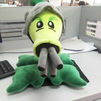 Plants Vs Zombies Gatling Pea Peashooter Plush Stuffed Toys Dolls 30cm