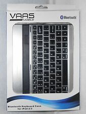 Bluetooth 3.0 iPad 2 and iPad 3 Vaas Mobile Keyboard Case