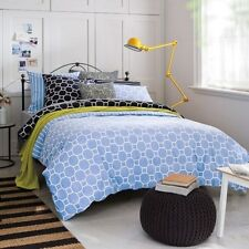 SHERIDAN ROYSTON CHAMBRAY KING QUILT COVER SET  - FULLY REVERSIBLE -