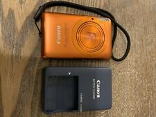 Canon PowerShot Digital ELPH SD1400 IS 14.1MP Digital Camera - Orange