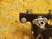 Ford 1932 V8 ignition column drop chrome plug  -- lock key steering flathead