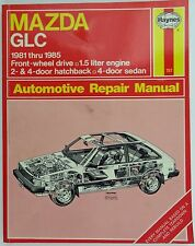 Haynes Mazda GLC Repair Manual 1981 thru 1985 FWD 1.5 Liter Engine